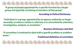 Definition of committee