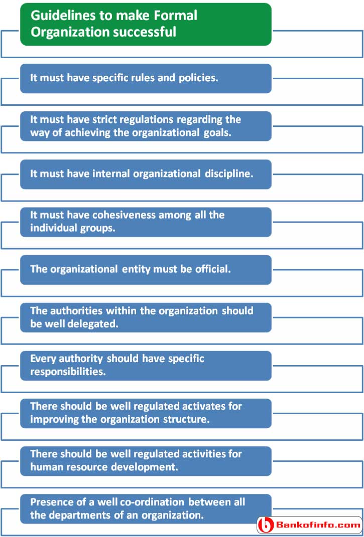guidelines_to_make_formal_organization_successful