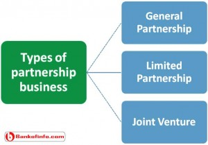 Types of partnership business and their characteristics