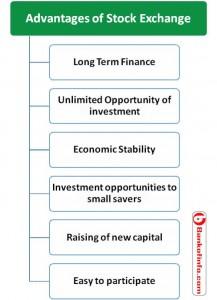 advantages of stock exchange