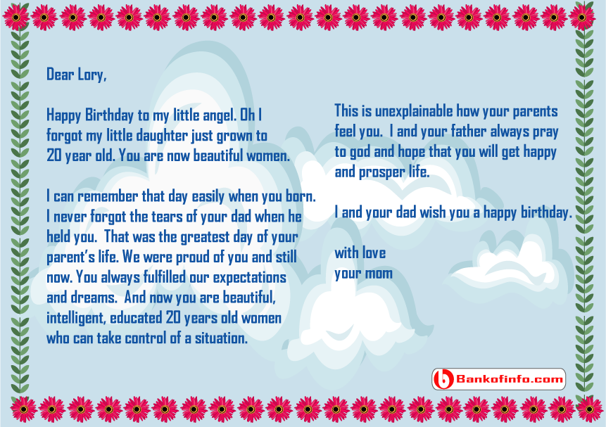 Happy Birthday Letter To Your Girlfriend from bankofinfo.com