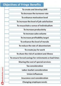 objectives of fringe benefits