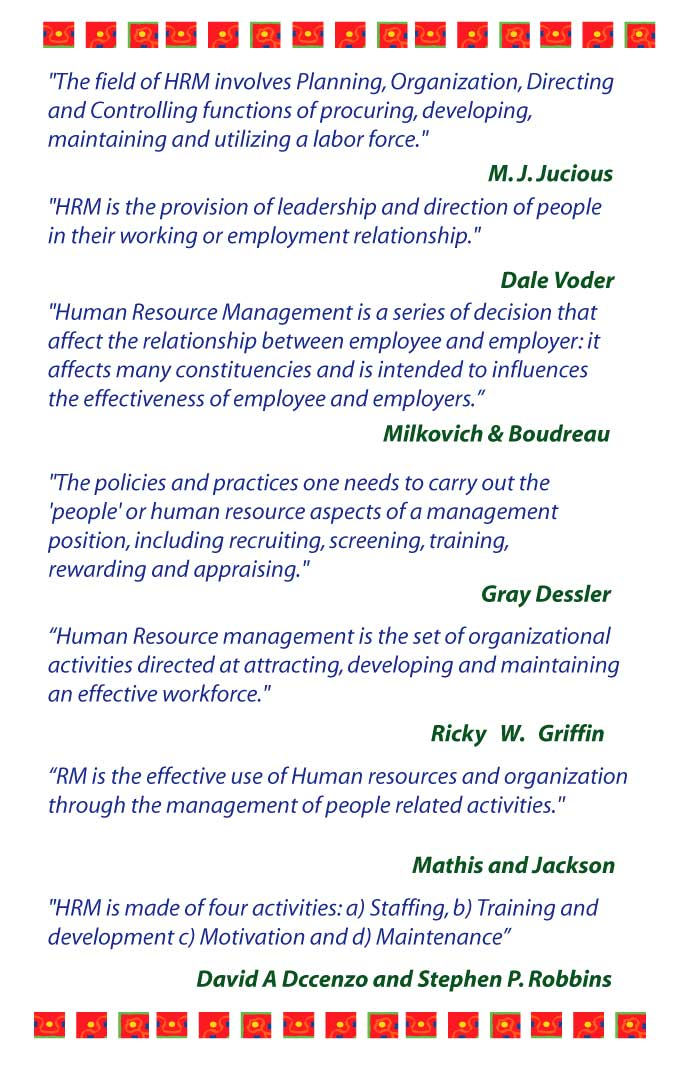 definition_of_human_resource_management