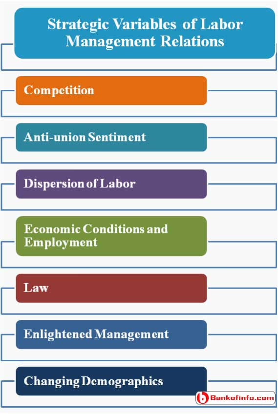Strategic Variables of Labor Management Relations