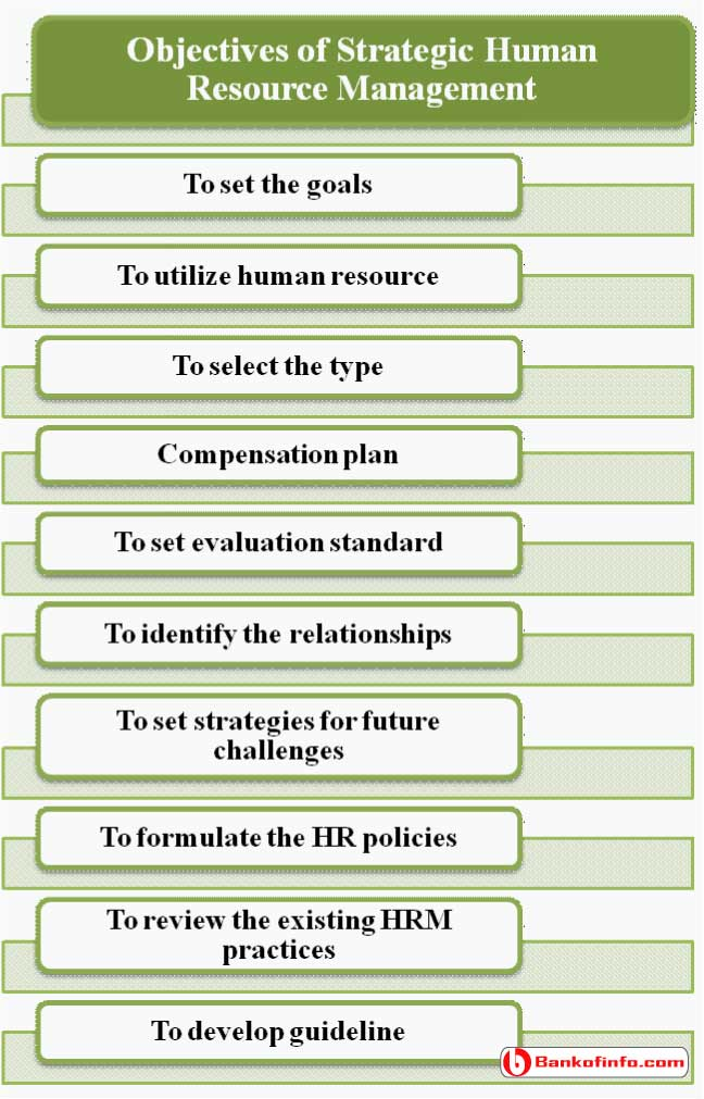 Objectives of Strategic Human Resource Management