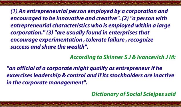 intrapreneurship_definition_ by_many_authors
