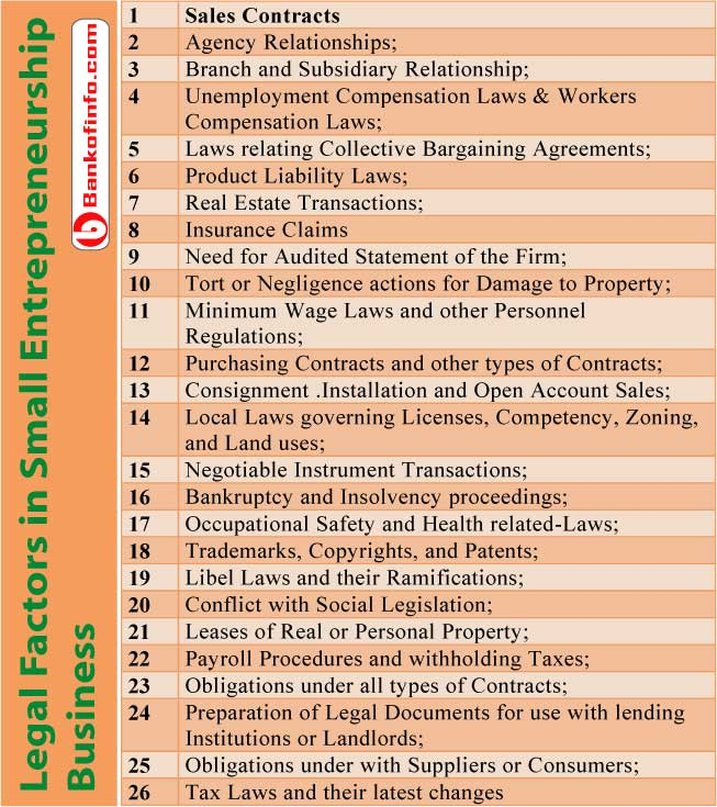 legal_factors_in_small_entrepreneurship_business